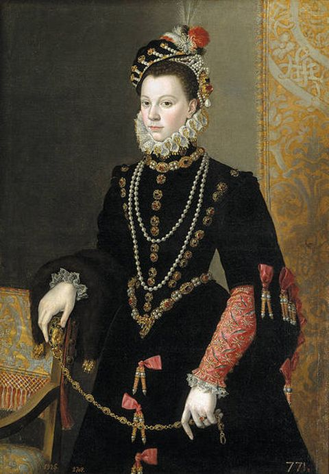 Elizabeth of Valois - Third wife of King Philip II of Spain