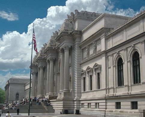 Entrance to the Metropolitan Museum of Art, New York