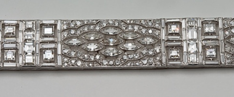 G10603 - Art Deco Diamond Bracelet by Lacloche