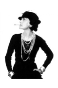 Gabrielle Coco Chanel sporting the modern Chanel look in the 1930's
