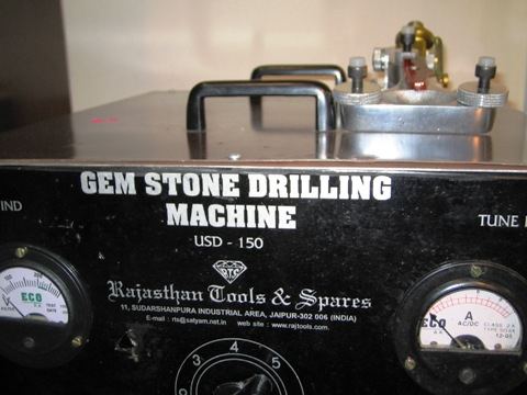 Gemstone Drilling Machine