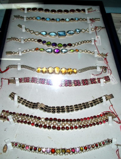 Natural Ceylon Gemstone bracelets