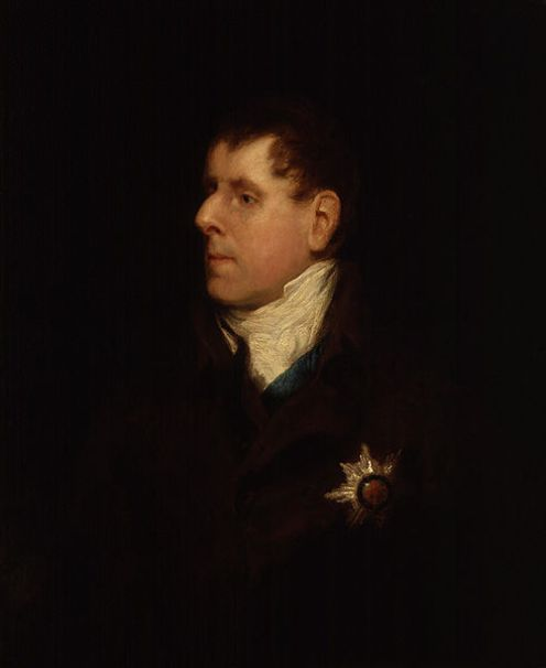 George Granville Leveson-Gower, the first Duke of Sutherland.