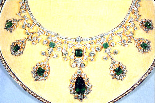 The Godman Emerald and Diamond Necklace