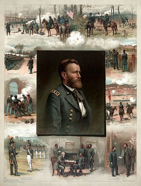Grant from West Point to Appomattox