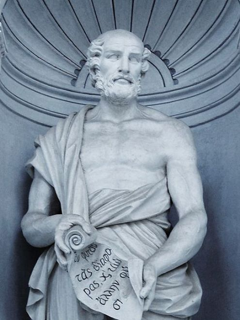 Greek Philosopher Theophrastus