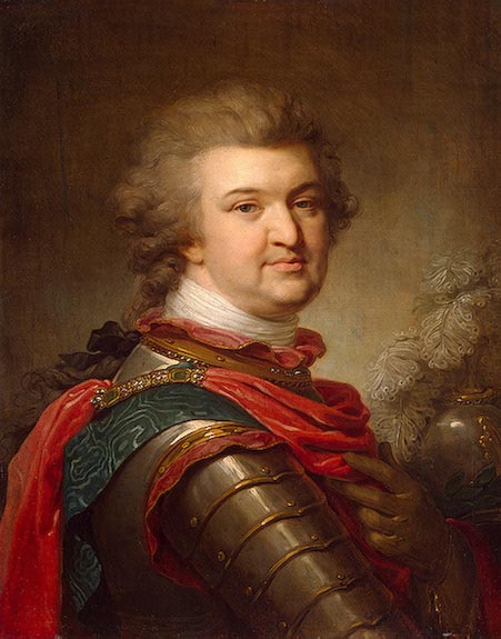 Grigory Alexandrovich Potemkin, lower of Catherine the great