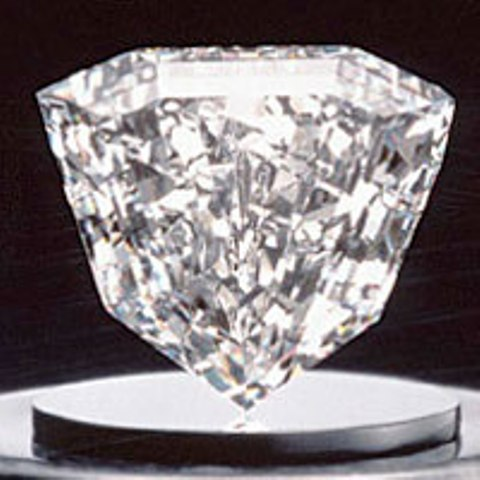89-carat, shield-shaped Guinea Star Diamond