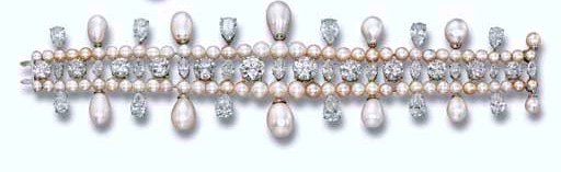 The Bracelet of the Gulf Pearl Parure