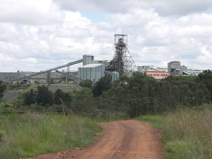 headframe of cullinan diamond mine