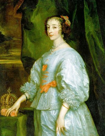 Henrietta Maria- Queen consort of King Charles I