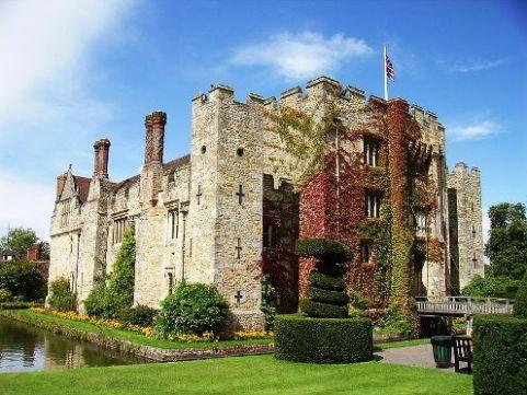 Hever Castle, childhood home of Anne Boleyn
