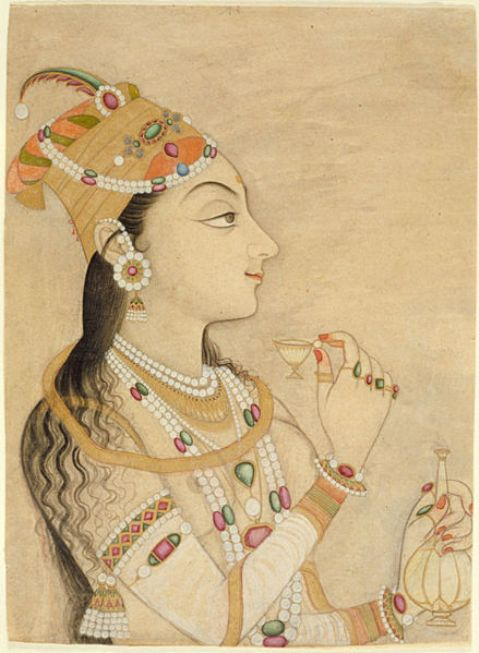 Idealized Portrait of Empress Nur Jahan