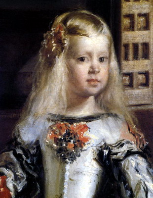 Infanta Margarita Theresa of Spain- Painting by Velazquez