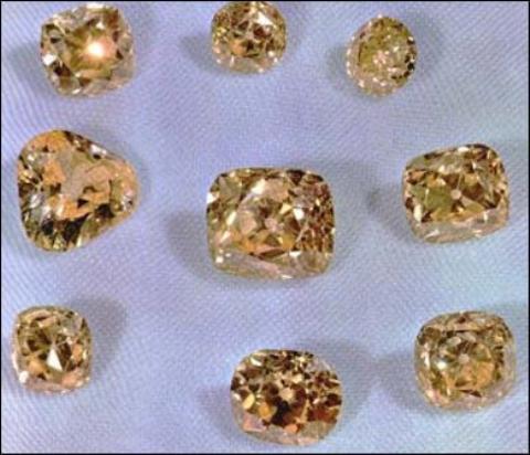 Iranian Yellow diamonds