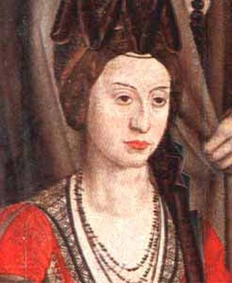 Isabella of Coimbra - First wife and Queen consort of Alfonso V, king of Portugal