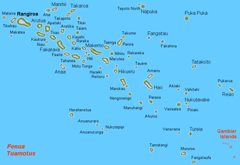 Islands of the Tuamotu Archipelago