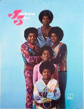 Lot No:317- Jackson 5 Original Promotional Display