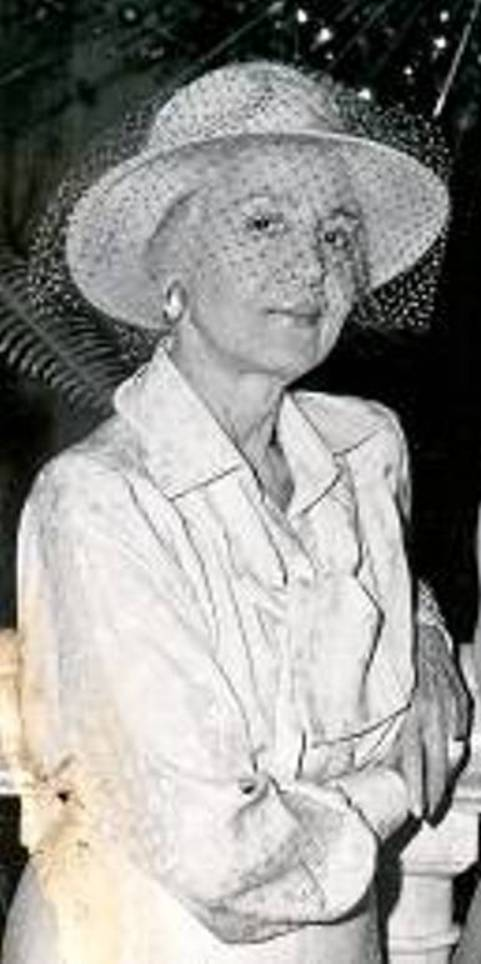 Janet Annenberg Hooker at a 1979 Palm Beach Party