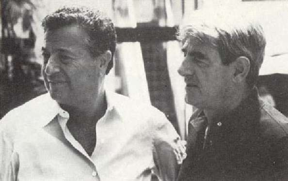 Jean-Claude Brouillet (right) and his friend Salvator Assael, who first popularized Tahitian black pearls