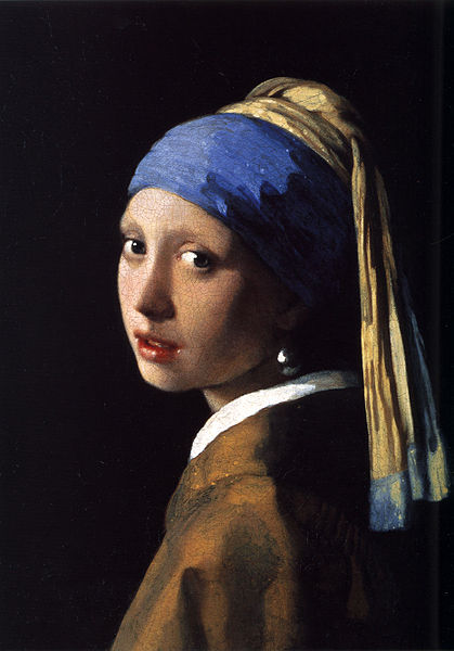 Girl with the pearl earring- By Johannes Vermeer (1632-1675)