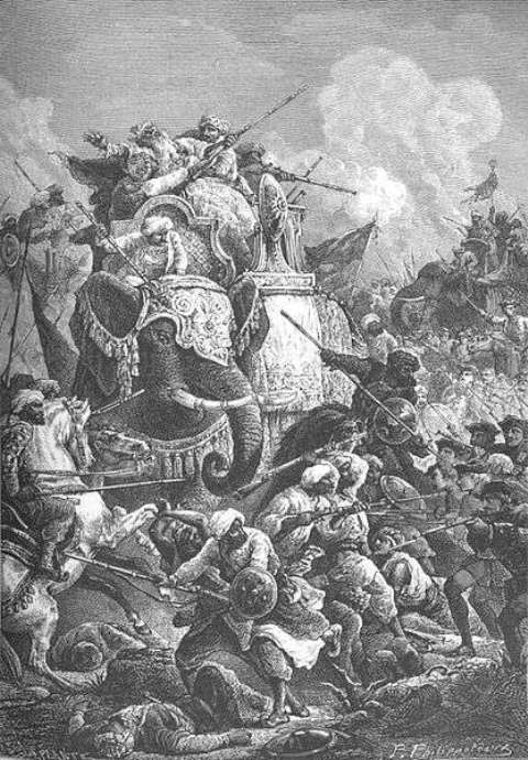 Killing of Nawab Anwaruddin Muhammad Khan in 1749