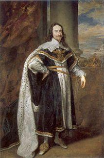 King Charles I of England, Ireland and Scotland