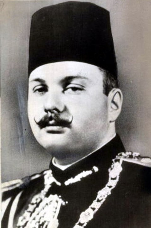 Farouk I - King of Egypt and the Sudan
