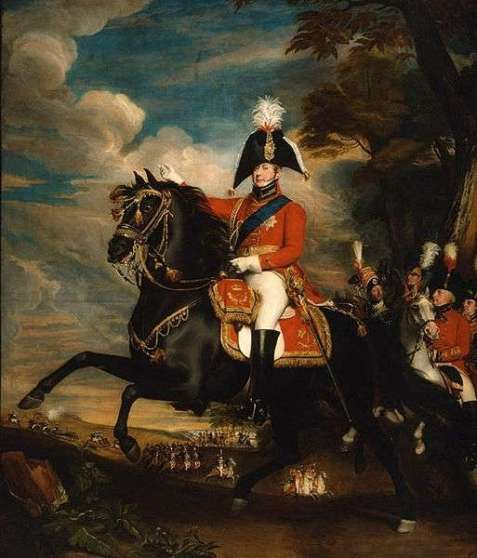 Equestrian portrait of King George IV circa 1809, by John Singleton Copley