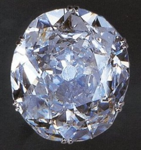 108.93-carat Oval-cut Koh-i-Noor Diamond