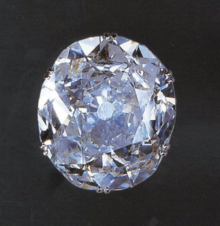 The Koh-i-Noor diamond originally weighed 186 carats, when the stone was in India, Persia and Afghanistan, but, subsequently after the stone was surrendered to the British