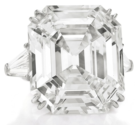 Krupp diamond/Elizabeth Taylor diamond from the Christie's auction catalogue