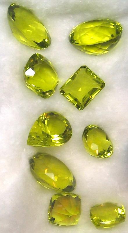 Faceted lemon quartz gallery