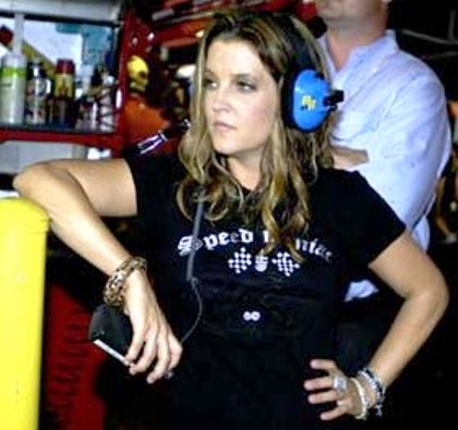 Lisa Marie Presley- Jackson's first wife