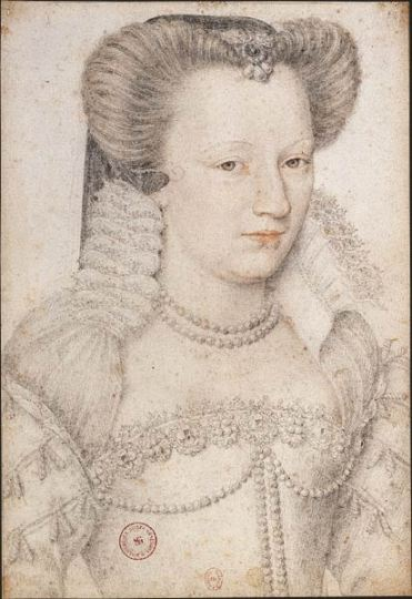 Louise of Lorraine - Wife and Queen Consort of Henry III of France (1574-1589)