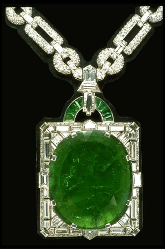 Mackay Emerald Necklace Muzo Mine Colombia