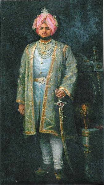 Maharaj Jagatjit Sing, the Maharajah of Kapurthala