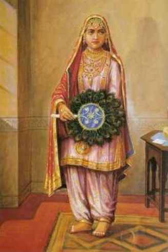 The Young Maharani Jindan Kaur