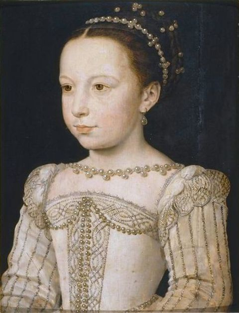 Margaret of Valois as a Young Princess