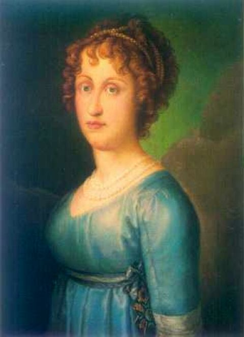 Maria Antonia of Naples and Sicily - Princess of Asturias, first wife of Ferdinand, Prince of Asturias (future Ferdinand VII of Spain)
