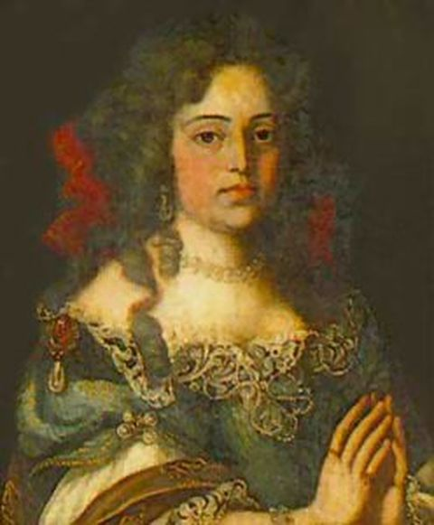 Maria Francisca of Savoy - Wife and Queen consort of Alfonso VI (1666-1668) and later Pedro II (1668-1683