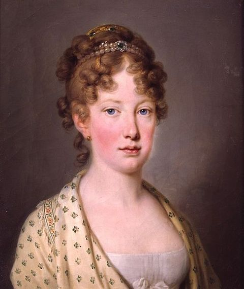 Maria Leopoldina of Austria - Wife of Pedro I of Brazil, Empress consort of Brazil and Queen consort of Portugal
