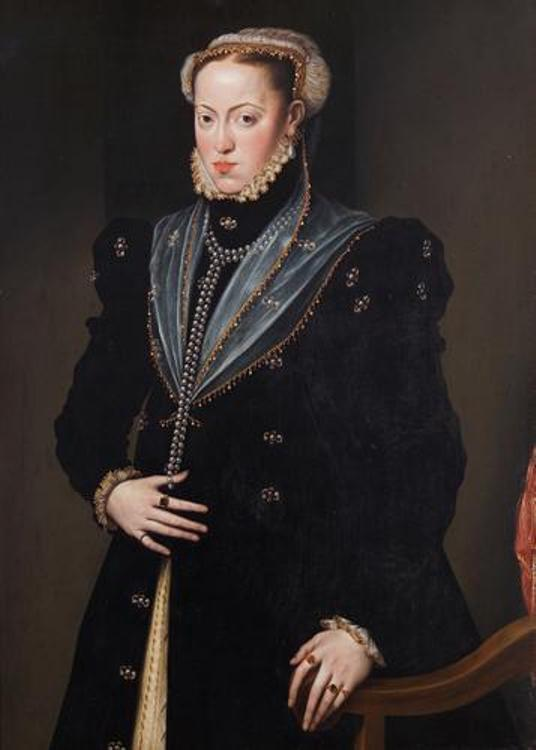 Maria of Spain - Wife of Maximillian II, Holy Roman Emperor (1564-1576)