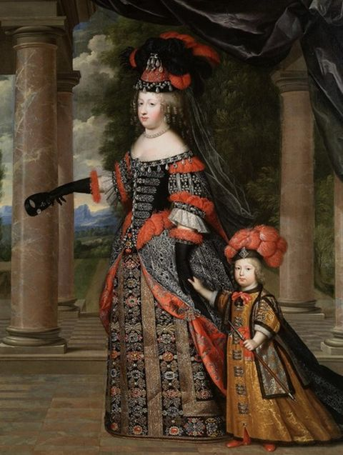 maria-theresa-and-her-son-dauphin-louis-of-france