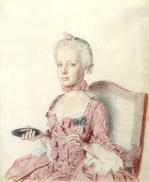Marie Antoinette at the age of seven years