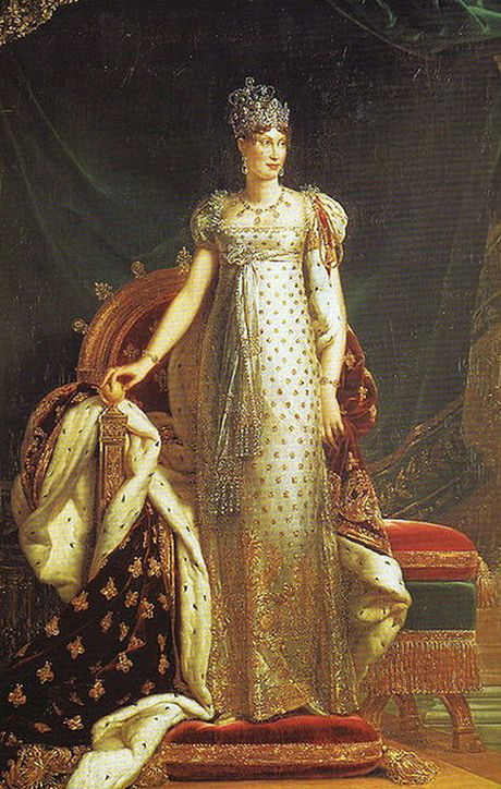 1811-Portrait of Marie Louise, Empress Consort of the French