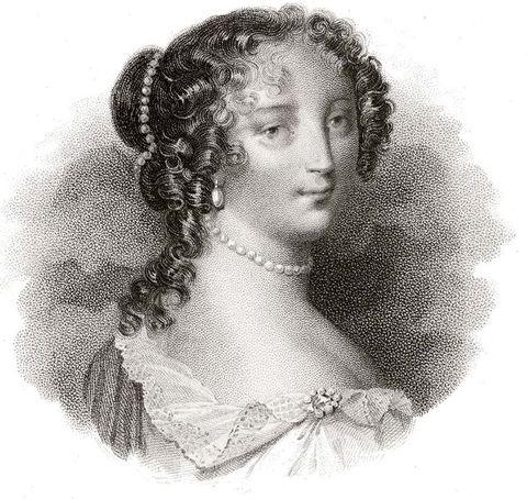 Francoise d'Aubigne, the Marquise de Maintenon, second wife of King Louis XIV