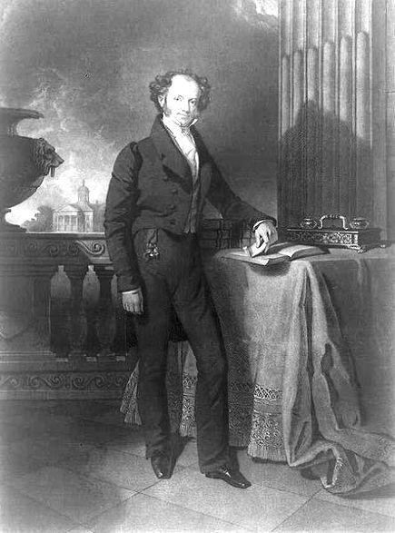 Portrait of Martin Van Buren- 8th President of the United States