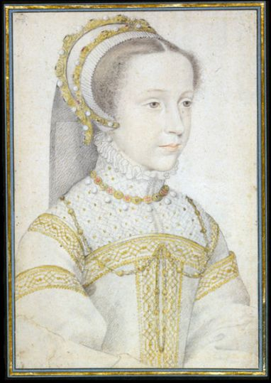 Mary Stuart at the age of 13