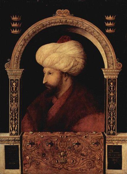 Mehmet II- Portrait by Gentile Bellini